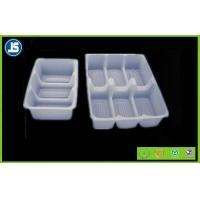 Buy cheap Plastic Food Packaging Trays With PVC / Transparent Party Food Tray from wholesalers