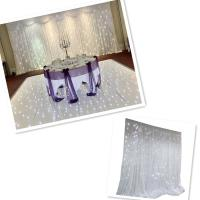Buy cheap Custom various size and color led star curtain for evnet decoration from wholesalers