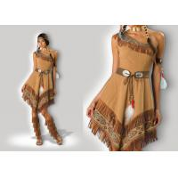 Buy cheap Native American Indian Custom Cosplay Costumes Carnival Party Cosplay Dresses from wholesalers