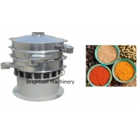 Buy cheap Food Grade 50kg/H Vibro Industrial Powder Sifter For Spice Sifting from wholesalers