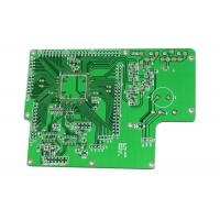 Buy cheap Lightweight 94v0 PCB Board Green Mask Rogers 5880 0.254mm 0.2mm Hole Size from wholesalers