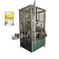 Buy cheap Can Tin 2-step powder filler powder filling machine,Cheap Automatic Packaging machinery for can tin bottle from wholesalers