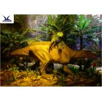 Buy cheap Garden Animal Statues For Dinosaur Statue Park , Velociraptor Lawn Ornament  product