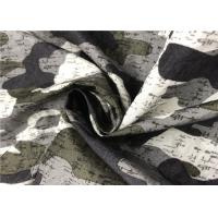 Buy cheap Super Soft Touch Camouflage Print Fabric Good Air Permeability Crease Resistance from wholesalers