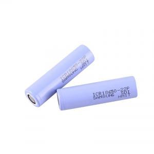 Buy cheap Big Capacity 3.6 V 2200mAh Samsung 18650 Lithium Battery product