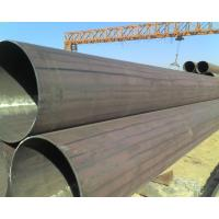 Buy cheap Carbon Welded ERW Steel Pipe for petroleum transport , Non-alloy from wholesalers