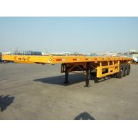 Buy cheap flatbed container 40ft  3 axle semi trailer | CIMC VEHICLE from wholesalers