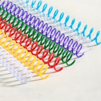 Buy cheap PVC Plastic 297mm Length Spiral Coil Binding from wholesalers