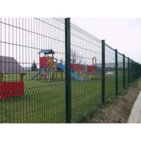 Buy cheap Powder Coating Bilateral Metal Mesh Fencing Low Cost For Bridge / Construction from wholesalers