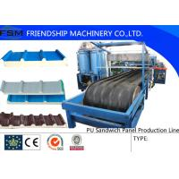 Buy cheap JF100 Type PU Sandwich Panel Production Line For 30-200mm from wholesalers