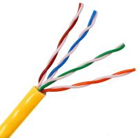 Buy cheap Solid Copper high speed utp cat5e cable Lan cable 4 Pair Twisted Pair Copper Cable from wholesalers