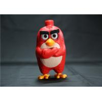 Buy cheap Red Angry Birds Figures Shampoo Pump Bottle , Cartoon Lotion Bottle 5 Inch from wholesalers