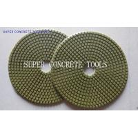 Buy cheap 7 Inch Dry Concrete Floor Polishing Pad from wholesalers