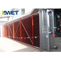China Curved Tube Type Steam Boiler Economizer , Durable Industrial Boiler Replacement Parts on sale