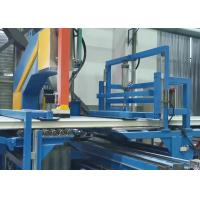 Buy cheap 18m Double Belt RW Sandwich Panel Machine Line Continuous Hydraulic Sawing product
