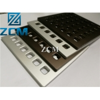 Buy cheap ZCM Black Aluminum ±0.02mm CNC Metal Machining from wholesalers