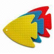 Buy cheap Dishwasher Safe Fish-shaped Silicone Hot Mats from wholesalers