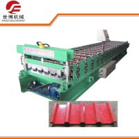 Buy cheap Building Material IBR Roofing Sheet Making Machine 686 With Hydraulic Cutting from wholesalers