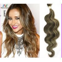 Buy cheap 10 - 18 Grade 6A Virgin Hair , Two Tone Tangle Free Ombre Funmi Hair from wholesalers