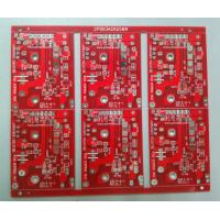 Buy cheap 1.6mm FR4 RED Double Sided PCB Customed PCB Manufacturing 2.0oz White Silkscreen OEM from wholesalers
