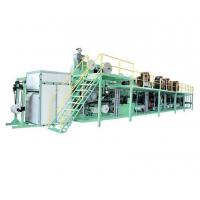 Buy cheap Fully Automatic Control Baby Diaper Production Line / Diaper Manufacturing Machine from wholesalers
