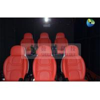 Buy cheap Black Mobile 5D Cinema Track Box 6 Seats Inside With 4 Wheels from wholesalers