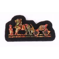 Buy cheap Goverment Embroidered Name Badges Jacket Embroidered Sew On Patches from wholesalers