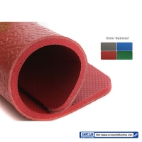 Buy cheap Thin Plastic PVC Vinyl Flooring Tiles / Club Or Gym Rubber Flooring Mats from wholesalers