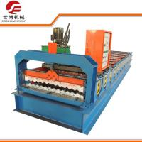 Buy cheap Programmed Controlled Steel Sheet Corrugation Roll Forming Machine For Roofing Tile from wholesalers