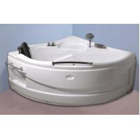 Buy cheap Contemporary Electric Corner Whirlpool Bathtub With Lights / Jets 110/220V from wholesalers