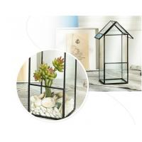 Buy cheap Handmade Geometric Irregular Micro Landscape / Flower Craft Small Glass Planters from wholesalers
