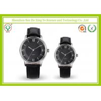 Buy cheap Luxury Japan Movt Leather Strap Watch With Stainless steel Watchcase from wholesalers