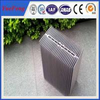 China HOT!reliable chinese supplier extruded large radiator heat sinks with silver color on sale