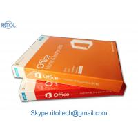 Buy cheap Multi Language Microsoft Office 2016 Versions , Office 2016 Retail Box DVD Online Activation from wholesalers