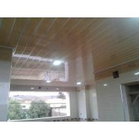 Buy cheap Light Weight PVC Wood Panels , Interior Pvc Cladding For Office / Hospital from wholesalers