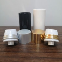 Quality 50ml 100ml 150ml Plastic PP Airless Pump Bottles With Over Cap for sale