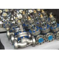 Buy cheap PSB LCB ASME B16.34 Globe Valve , Gear / Pneumatic Globe Valve Parabolic Disc & Plug Disc from wholesalers