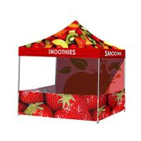 Buy cheap Vivid Image Promotional Pop Up Tent  , Ez Up Canopy 10x10 Popular No Loose Parts from wholesalers