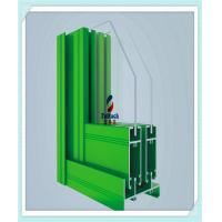 Buy cheap Red / Green Aluminium Window Extrusion Profiles 6 M Normal Length Acid Resistant from wholesalers
