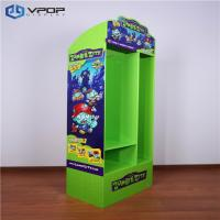 Buy cheap Green Eye Catching Cardboard Floor Displays With Different Size Shelf Toys from wholesalers