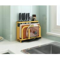 Buy cheap Yellow / Green Kitchen Knife Organizer Eco - Friendly Material Customized Size from wholesalers