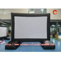 Buy cheap Rear Projection Inflatable Tv Screen Double Stitching Logo Printing L3m X H5m from wholesalers