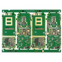 Buy cheap FR4 0.2mm Multilayer PCB Board Rogers 4003C Mix Laminate Green Soldermask ENIG from wholesalers