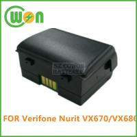 Buy cheap Replacement battery for verifone VX670 external POS terminal 24016-01-R battery 7.4V 1800mAh from wholesalers
