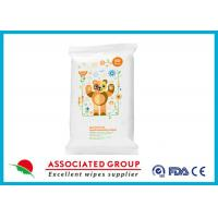 Buy cheap Fresh Antibacterial Hand Wipes Ultra Thick And Soft Healthy Biodegradable 20 Sheets from wholesalers