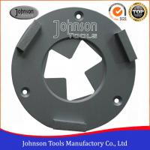Buy cheap 3 Segment Concrete Grinding Wheel 160mm Diamond Concrete Grinders For Epoxy Floor from wholesalers