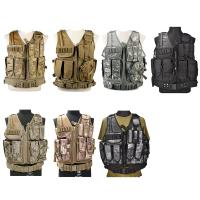 Buy cheap Camo Light Weight Paintball Tactical Vest , Police Military Army Airsoft Vest from wholesalers