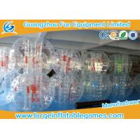 Buy cheap TPU / PVC 1.8M Iinflatable bubble ball Human Sphere Hockey Ball Customized from wholesalers