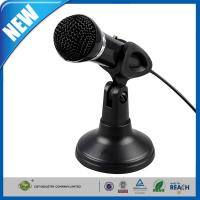 Buy cheap Wired PC Computer Microphones Black Stereo For Noise Canceling from wholesalers