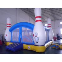 Buy cheap Inflatable 4 in 1 Combo Jumping Castle Jump And Slide With Plastic Ball Pit from wholesalers